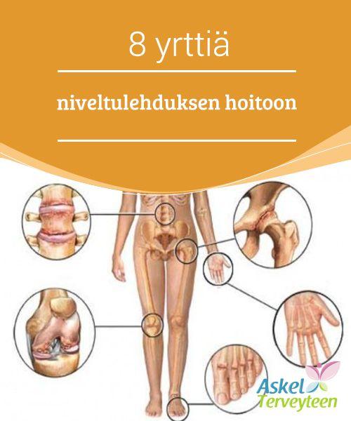 8 yrttiä niveltulehduksen hoitoon   Niveltulehdus on #terveysongelma, jossa nivelten #tulehtuneisuus aiheuttaa kyseisten kohtien jäykkyyttä ja kipua. Näitä oireita tuntuu #erityisesti ihmisen liikkuessa, ja tämä sairaus voi ilmetä minkä ikäisellä tahansa.  #Luontaishoidot