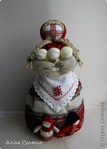 Куклы Шитьё Кукла-мотанка Ткань фото 29