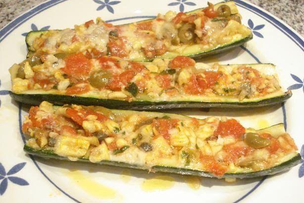 Calabacines al horno con tomate y mozzarella Te enseñamos a cocinar recetas fáciles cómo la receta de Calabacines al horno con tomate y mozzarella y muchas otras recetas de cocina..