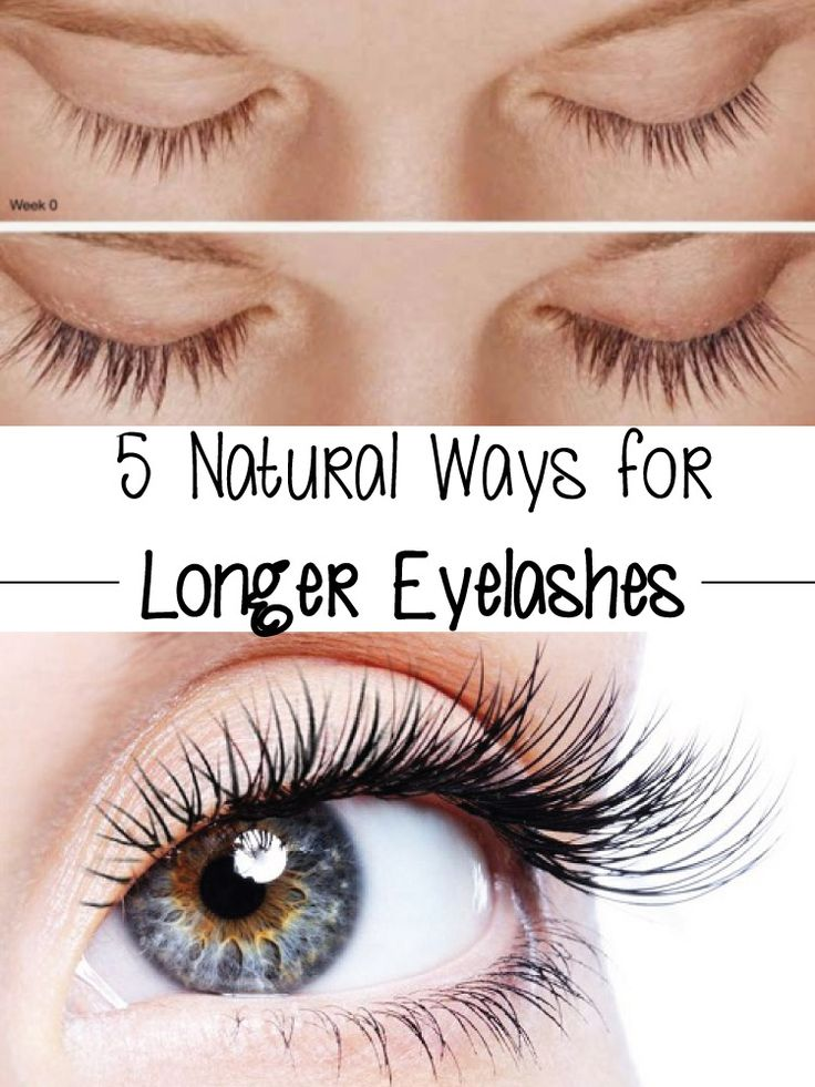 5 Natural Ways for Longer Eyelashes
