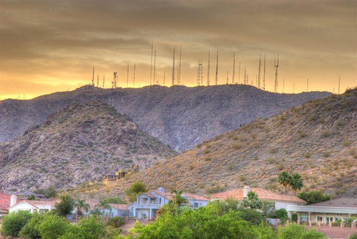 Homeless Guy Takes Out Phoenix Radio TV Stations By Damaging Broadcast Antennas
