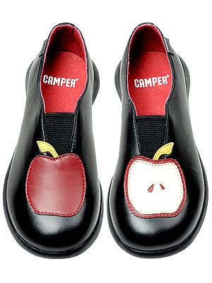 Cute and comfy. From Camper shoes, of course.