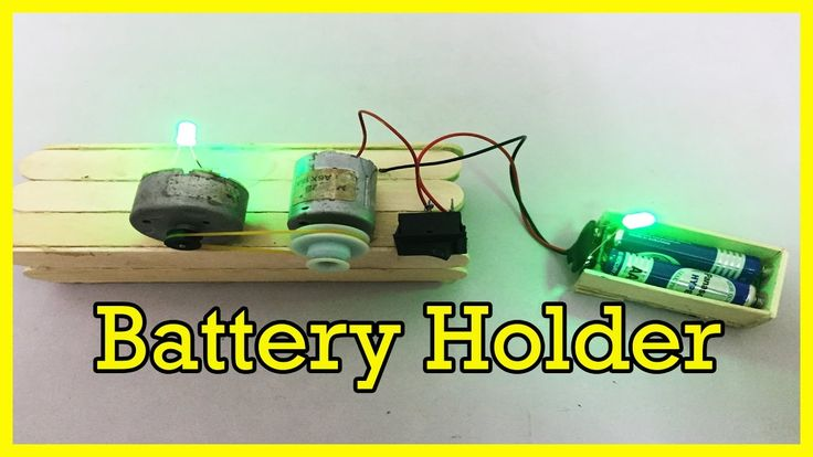 How to make a Battery Holder at Home