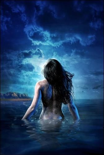 Thetis _ Greek. A beautiful, nymph-like sea Goddess, she is also a shape-shifter in animal and elemental forms.