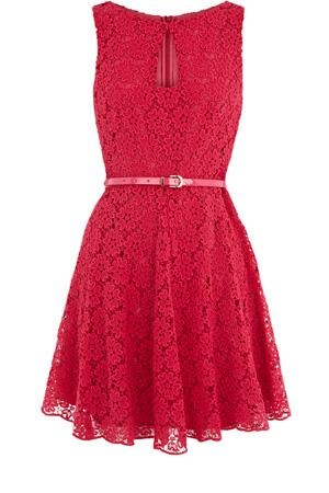 Oasis Shop | Powder Pink Lace Dress | Womens Fashion Clothing | Oasis Stores UK