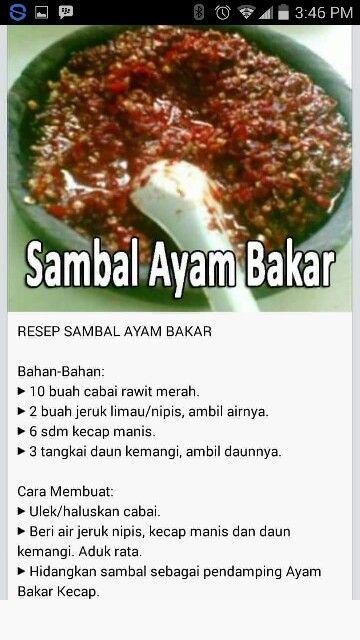 Sambal Ayam Bakar