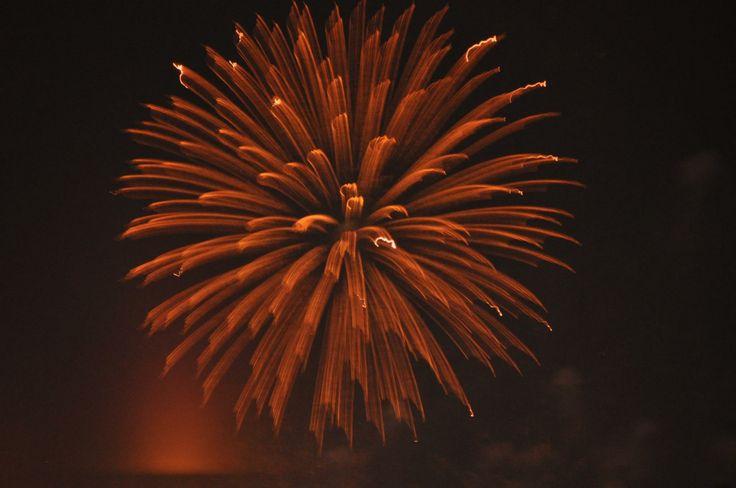 Fireworks celebration by Kristin Hyde