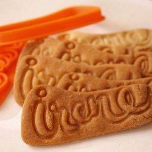 Molde galletas personalizado para Irene. Regalo para niños.