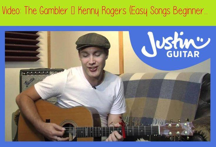 The Gambler - Kenny Rogers (Easy Songs Beginner Guitar ...