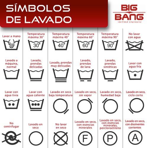 Familiarízate con los símbolos de limpieza para el mejor cuidado de la ropa.   #mejoresuniformes  # uniformesprofesionales  #uniformedetrabajo  #uniformesdecalidad