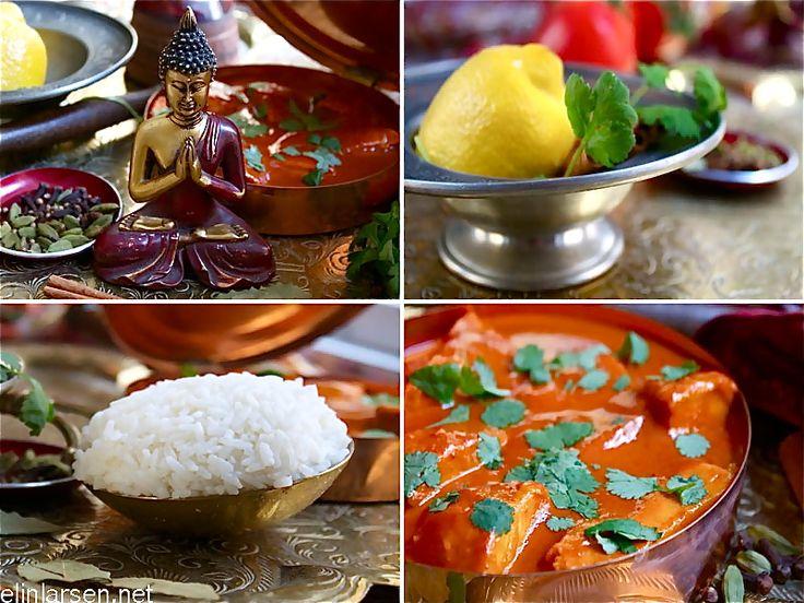 Butter chicken- indisk favoritt