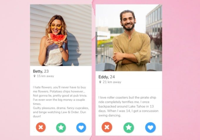 Abbiewills I Will Improve Your Tinder Profile Using My Experience For 10 On Fiverr Com Good Tinder Bios Best Of Tinder Tinder Bios For Guys