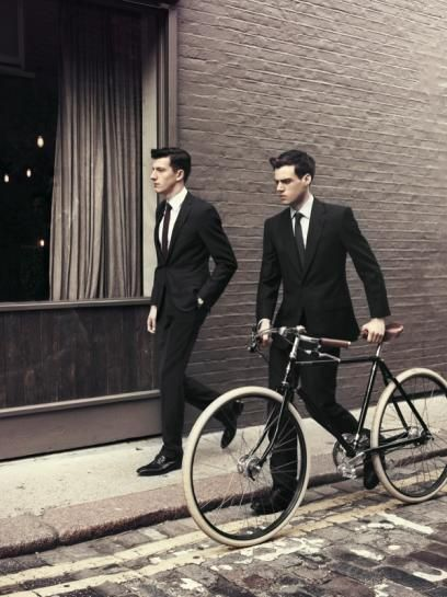 #bicycles & #suits