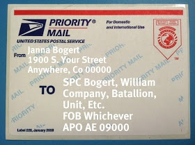Perception is Everything: How To: APO Address and Military Care Packages