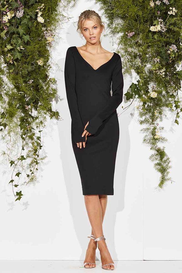 Maurie & Eve - Easy Come Easy Go Dress Black