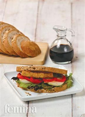 Femina.co.id: Healthy Veggie Sandwich #resep #menudiet