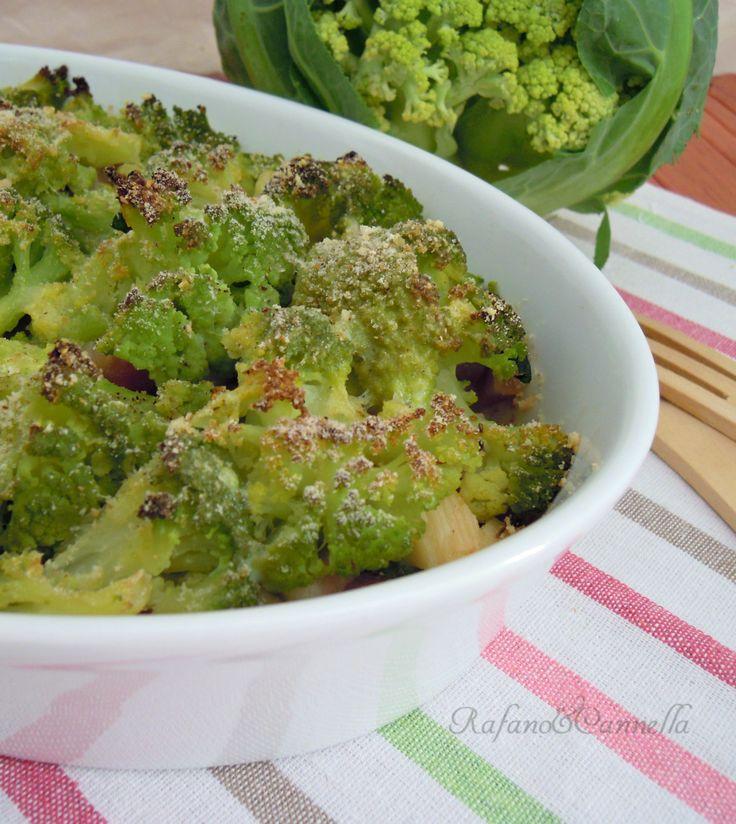 Cavolfiore con pancetta e provolone  http://blog.giallozafferano.it/rafanoecannella/cavolfiore-con-pancetta-e-provolone/