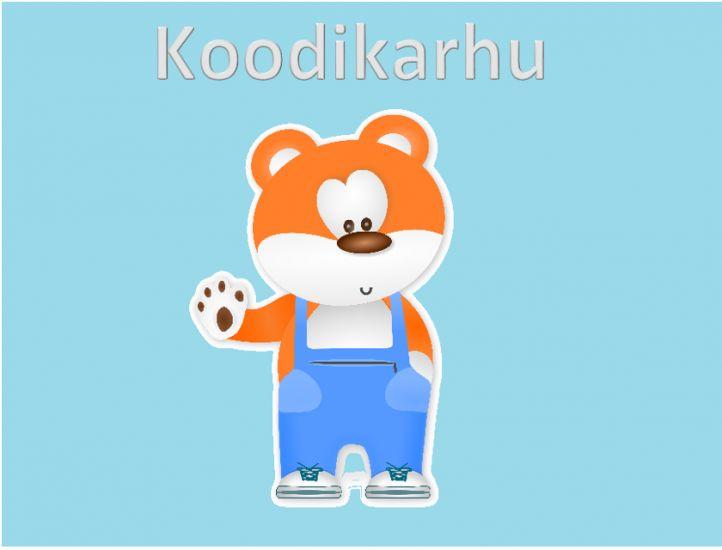 Koodikarhu on koodaamisen opetuspaketti sekä opettajille että oppilaille