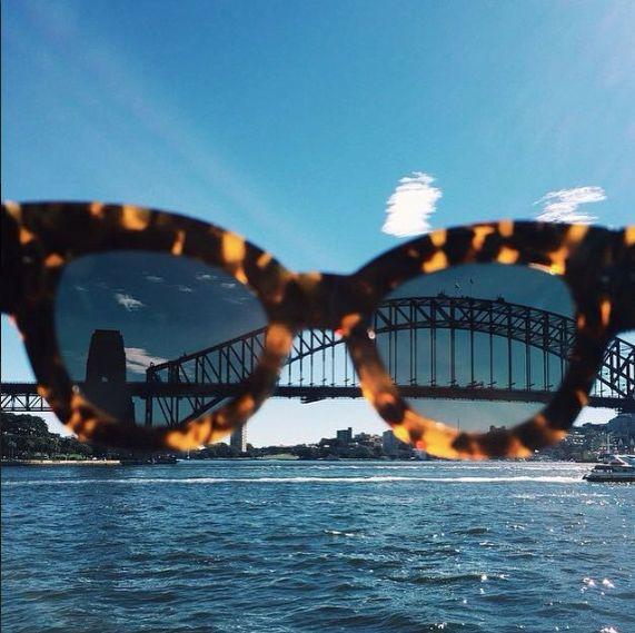 Blue skies and sunshine in Sydney again! Karen Walker Northern Lights in Crazy Tortoise