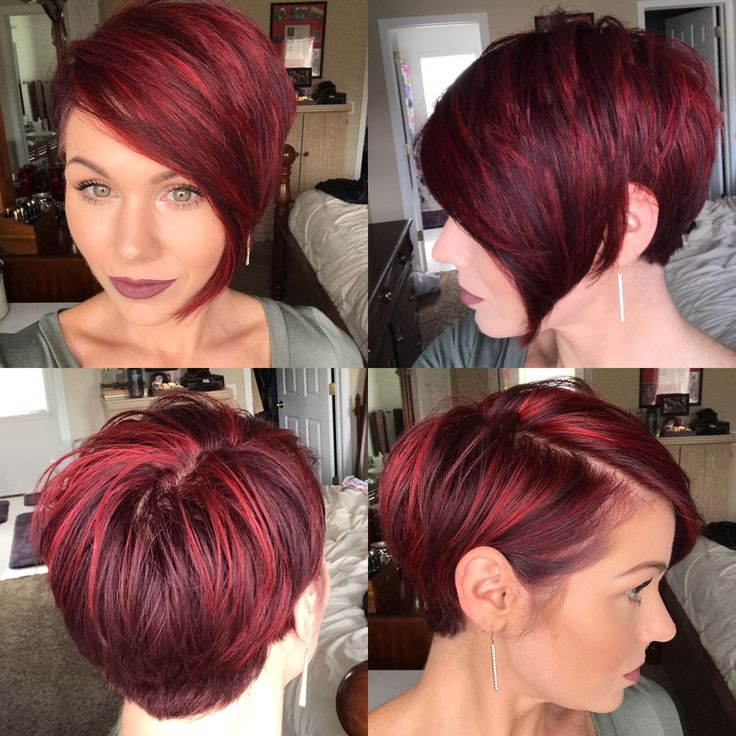 360 of pixie cut and also a good transition cut for when you want to grow out your pixie