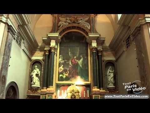A gorgeous 3:53 tour of St. Joseph des Carmes, narrated in French. My high-school French was good enough for me to get about 60% of  what they said!