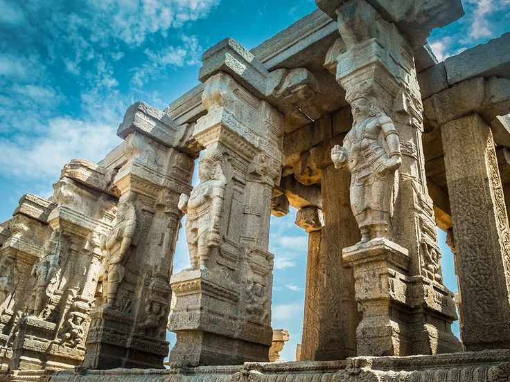 Andhra Pradesh's famous Lepakshi temple.