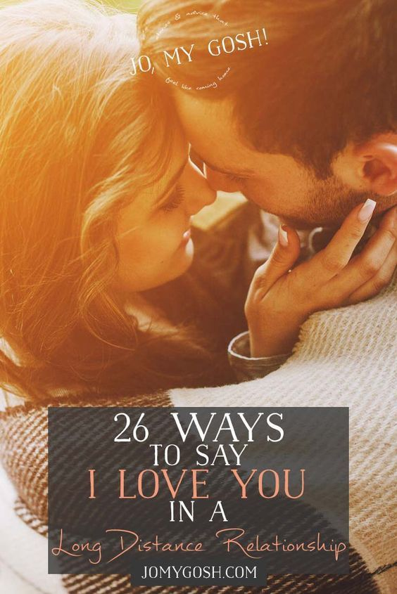 26 Ways To Say I Love You In A Long Distance