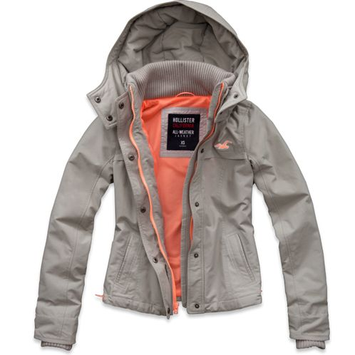 Girls Hollister All-Weather Jacket