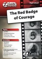 Click to buy The Red Badge of Courage Z-Guide for your High Schooler to study the movie and the Civil War. $12.99 for CD or PDF. #Zeezok Publishing