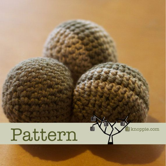 Knoppie Play Ball PDF Pattern on Etsy, $5.00 AUD
