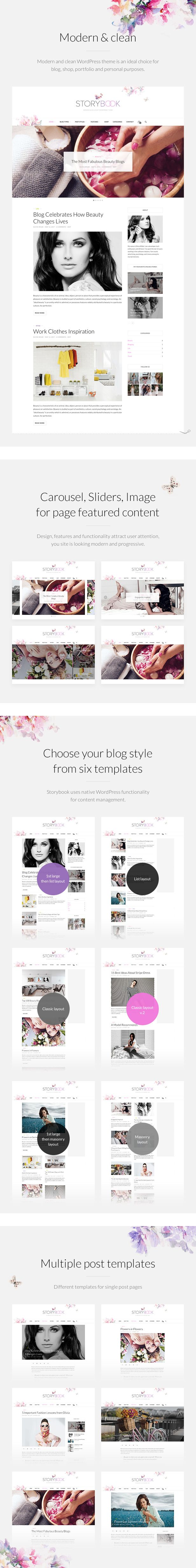Download Storybook – Modern Blog & Shop Theme (Personal)