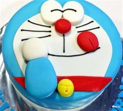 Doraemon Birthday Cake HD Wallpaper,Cartoon Wallpaper & Images, Doraemon Wallpaper, Cartoon Fun Wallpaper