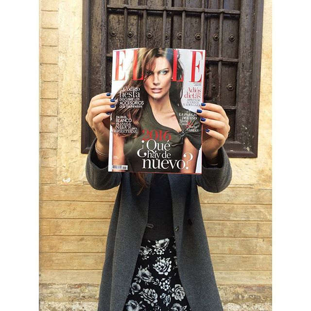 Honored to appear in the January edition of @ellespain magazine out today.