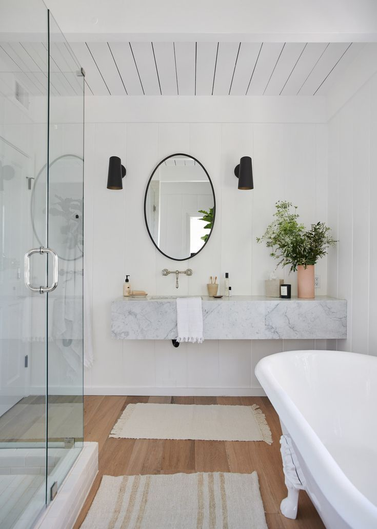 5 Renovation Tips From The Jenni Kayne Lake House Rue Bathroom Design Bathrooms Remodel Bathroom Inspiration