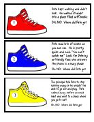 Pete the Cat beginning of the year scavenger hunt printable