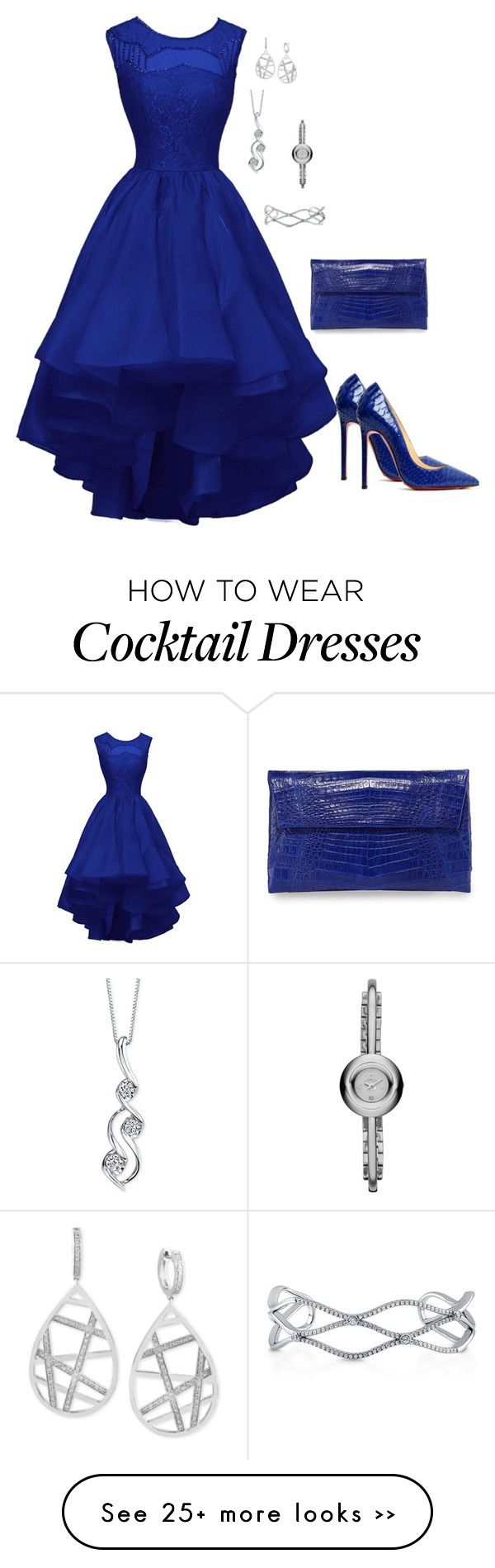 """FDWN"" by charactertickles on Polyvore featuring Christian Louboutin, Nancy Gonzalez, BERRICLE, Effy Jewelry, Sirena and Marc by Marc Jacobs"