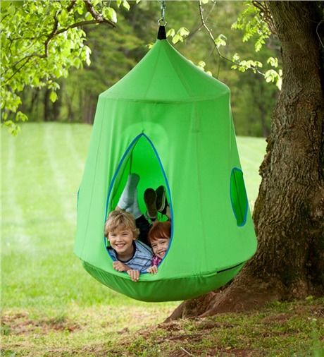 Hugglepod Hangout.  Holds up to 250 lbs.  Indoor or outdoor use.