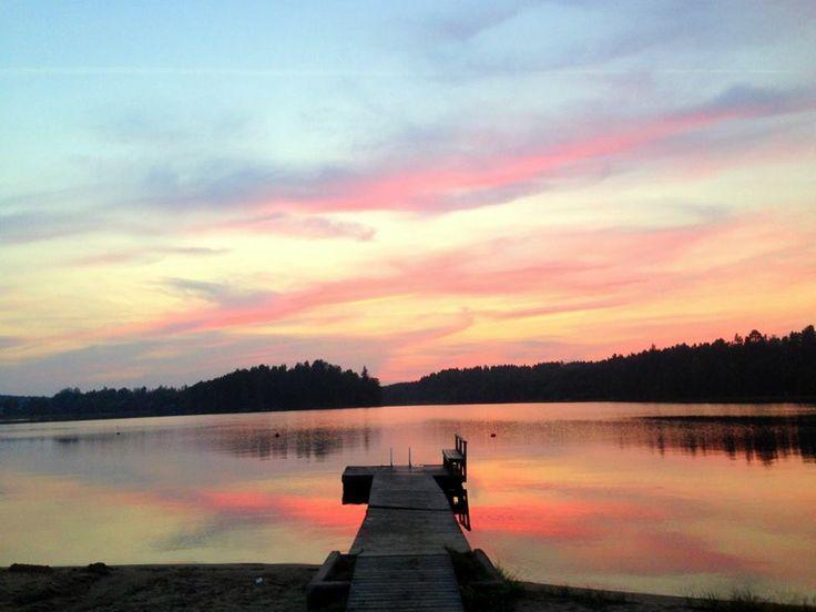 Lake Kyrösjärvi, Ikaalinen Finland, Toivolansaari Camping