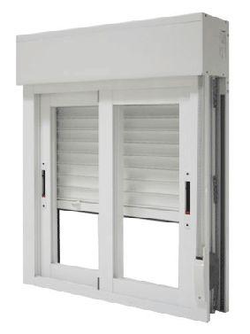 Instalación de compactos. Ventana con persiana. http://persianasnorte.es/