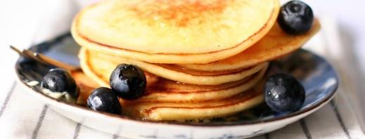 Spaghetti Squash Pancakes - modify the spices/herbs to make them sweet or savory