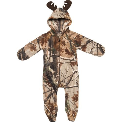 Game Winner® Infants' Realtree Xtra® Polar Fleece Hooded Pram Suit