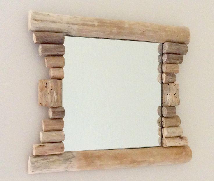 Les 25 meilleures id es de la cat gorie miroir en bois flott sur pinterest - Cadre en bois flotte decoration ...