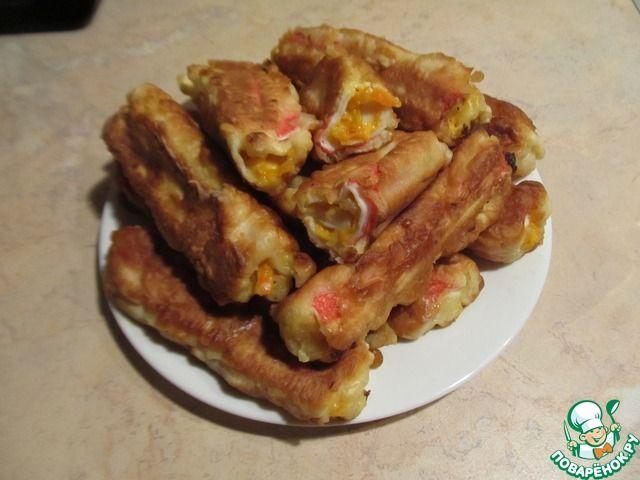Крабовые пирожки ингредиенты