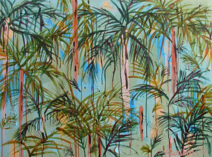"""Rainforest Solitude"" by Jazmin Wilkins. Paintings for Sale. Bluethumb - Online Art Gallery"