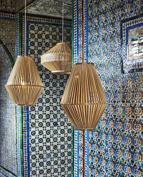 Hanglampen van de nieuwe Jassa collectie Ikea met Piet Hein Eek #ikea #rotan #bamboe #katoen #keur #interieur