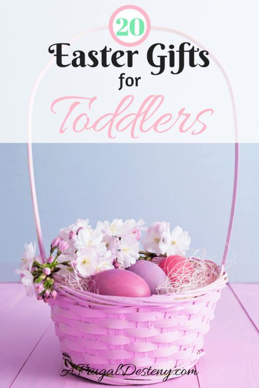With Easter quickly approaching, I think all of us moms are brainstorming gift ideas! Check out these 20 awesome Easter gifts for your toddler - none of which are candy or food! #easter #eastereggs #easterbunny #easterbasket #eastergifts #toddler #toddlereaster #toddlergifts #toddlertoys #kids #holiday #holidays #gifts #giftguide