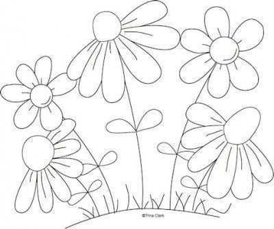 Flower Embroidery pattern: