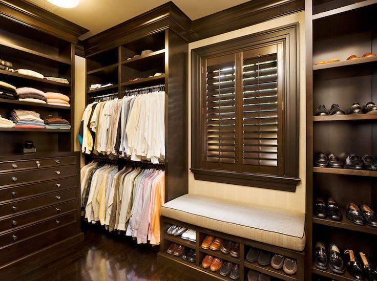 Closet Storage Ideas. Men ClosetWalk In ...