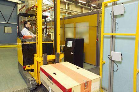 RFID Inbound gate at ABB