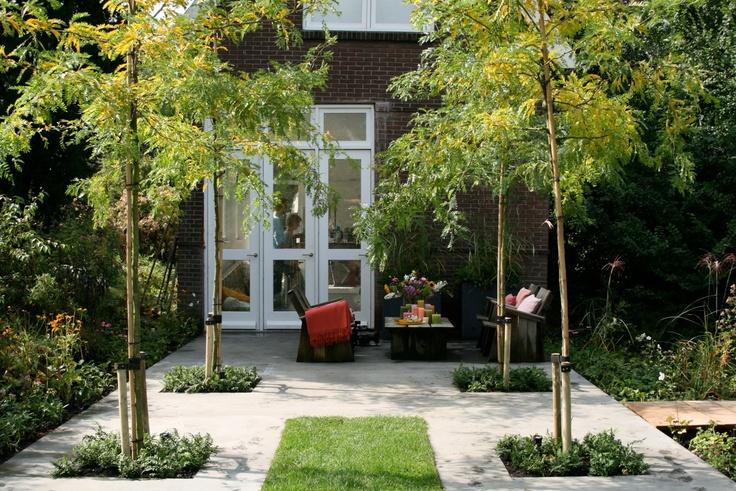 Achtertuin - Ontwerp - Inspiratie - Strakke - Tuin | Garden ✭ Ontwerp | Design Ruud Vermeer